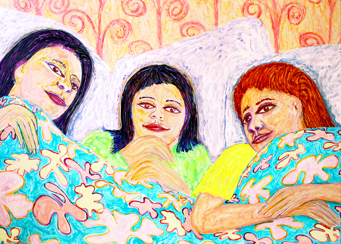 in the family bed (frank waaldijk, 2012)