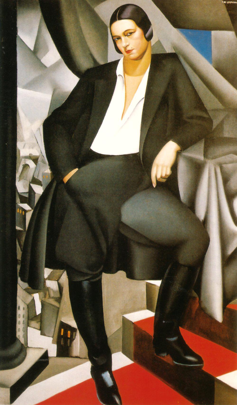 tamara de lempicka, portret van de hertogin van la salle